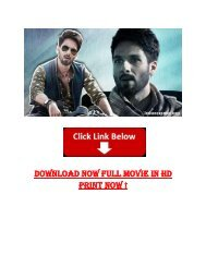 download torrent for bollywood movies free