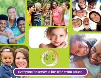 Hope House Community Engagement Book