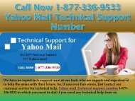 Call Now 1-877-336-9533 Yahoo Mail Technical Support Number