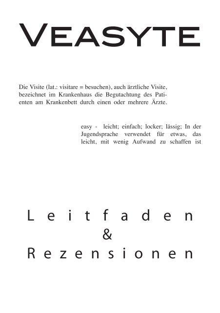 Veasyte Fachschaft Medizin Der Uni Köln