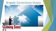 Brigade Apartments @brigadecornerstoneutopia.ind.in