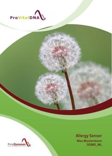 Allergy Sensor - DEMO DE