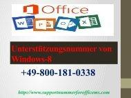 Wie helfen wir Ihnen bei der Aktualisierung von Windows unter der Unterstützungsnummer von Windows-8 0800-181-0338 ?