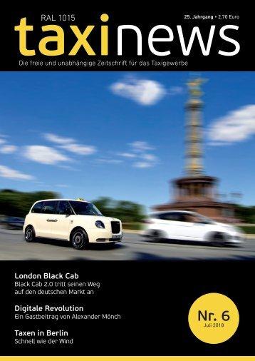 RAL1015 taxi news Heft 06-2018