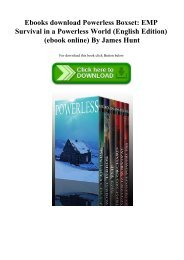 Ebooks download Powerless Boxset EMP Survival in a Powerless World (English Edition) (ebook online) By James Hunt