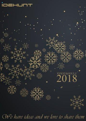 IdeHunt Oy - Kuvasto - Syksy-Joulu 2018