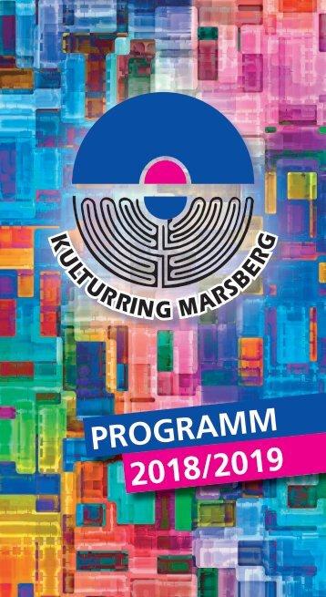 Programm des Kulturrings Marsberg 2018/2019