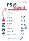 PSIS Insight - Edisi Januari-Julai 2018 - Page 2