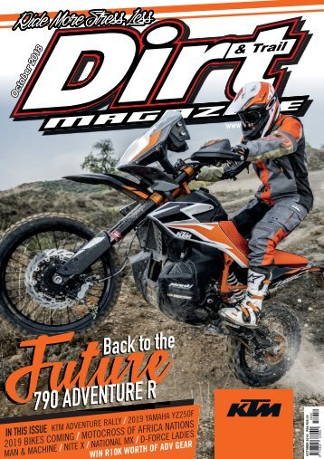 Dirt and Trail October 2018