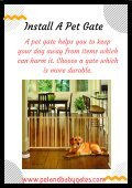 Durable Pet Gates For Puppies - Page 3