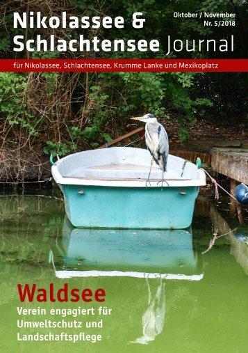 Nikolassee & Schlachtensee Journal Okt/Nov 2018