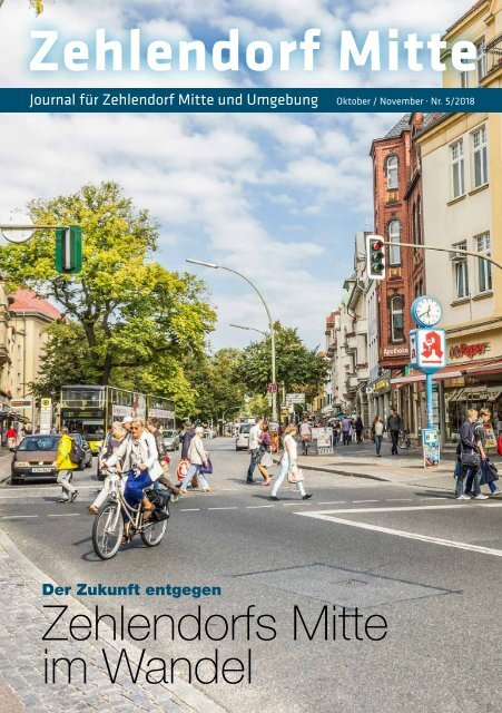 Zehlendorf Mitte Journal Okt/Nov 2018
