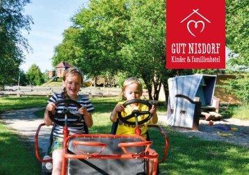 Das Bio Kinder- und Familienhotel Gut Nisdorf