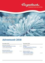 Tagesfahrten Winter 2018/2019