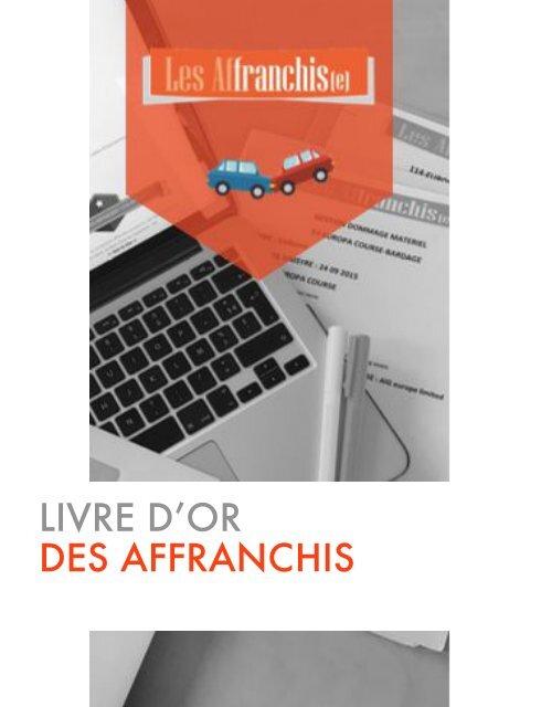 livre d'or Les Affranchis