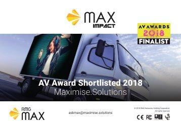 MAX Impact Display Technology
