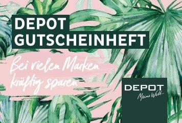 DEPOT Gutscheinheft 2018