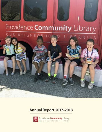 Providence Community Library Annual Report 2017-2018