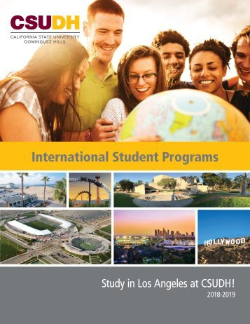 2018 CSUDH International Programs Brochure