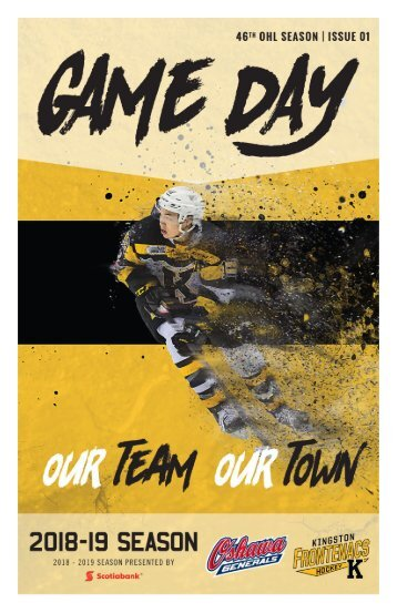 Kingston Frontenacs GameDay September 21, 2018