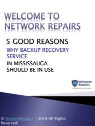 5 Good Reasons Why Backup Recovery Service in Mississauga should be in Use-converted