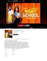Offizielle Filmseite für die Night School 2018