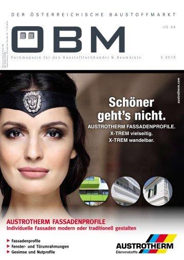 2018-9 OEBM Der Österreichische Baustoffmarkt - Schöner geht's nicht - AUSTROTHERM