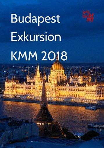 KMM unterwegs: Budapest im Mai 2018