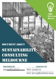 Create a Sustainable Environment with Energy-efficient Solutions