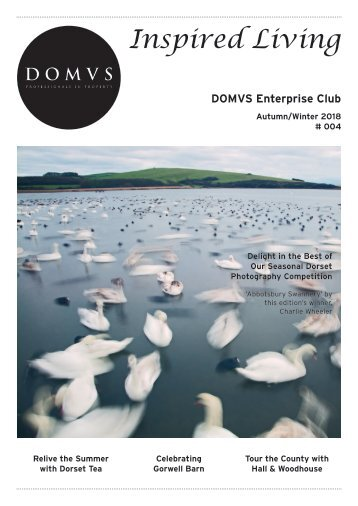 DOMVS Enterprise Club Inspired Living - Issue 4 - Autumn Winter 2018
