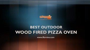 Outdoor Wood Fired Pizza Ovens By ilFornino NY