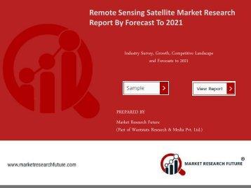 Remote Sensing Satellite Market