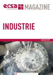 ECSA Maintenance MAGAZINE - Industrie - September 2018