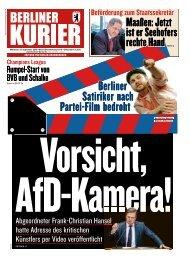 Berliner Kurier 19.09.2018