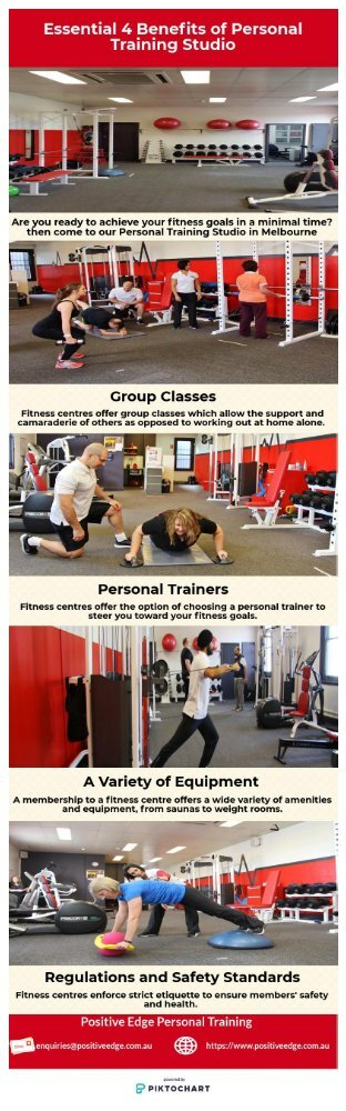 Essential 4 Benefits of Personal Training Studio