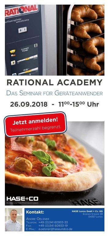 Leipzig: Rational Academy - Das Seminar für Geräteanwender