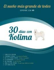30 dias con Kolima - Septiembre 2018