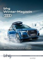 bhg Audi Winter-Magazin