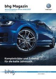 bhg Volkswagen Winter Magazin