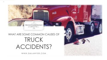 Consult New Jersey Truck Accident Attorney