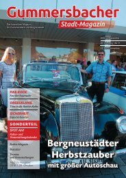 Gummersbacher Stadtmagazin September 2018