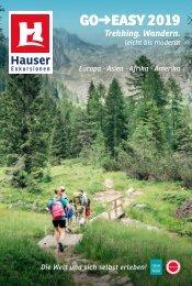 Go Easy 2019 - Reisekatalog von Hauser-Exkursionen