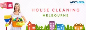 Flat 50 % Discount on House Cleaning Melbourne