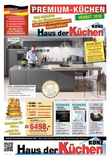 Haus der Küchen Konz - Premium Küchen - Herbst 2018