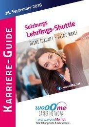 Lehrlings-Shuttle Katalog 2018