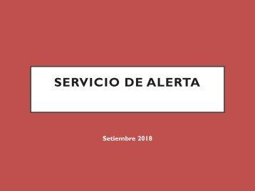 Servicio alerta setiembre 2018 - Harvard Business Review
