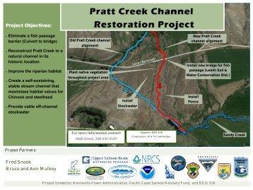 Pratt Creek Construction Poster