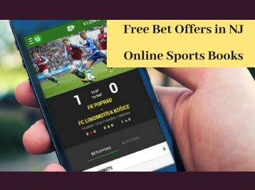 Free Bet Offers in NJ Online Sports Books