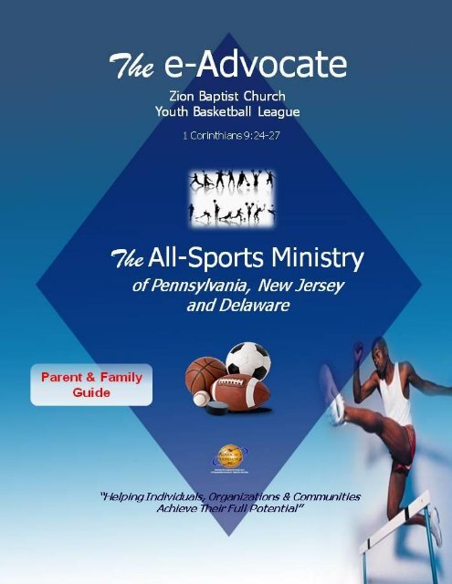 The All-Sports Ministry of PA-NJ-DE - Rules & Regulations