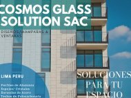 CosmosGlass Solution SAC